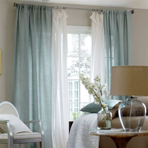 blue curtains layered  images about dream home on pinterest shelves islands and open