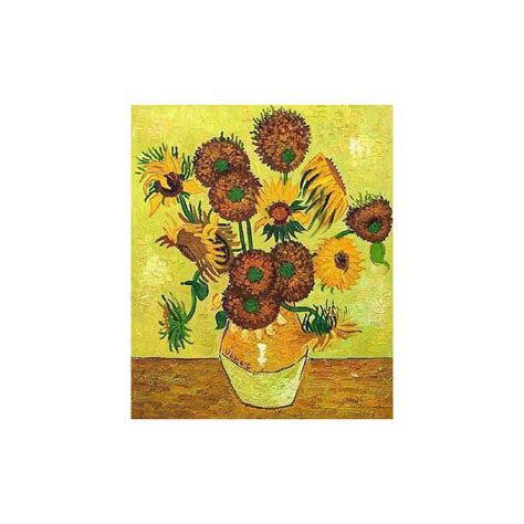 Fourteen Sunflowers In A Vase by Quot Fourteen Sunflowers In A Vase Quot By Vincent Gogh