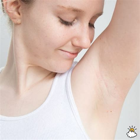 How Does Armpit Detox Take by She Fills Pits With This Then Raises Arms The