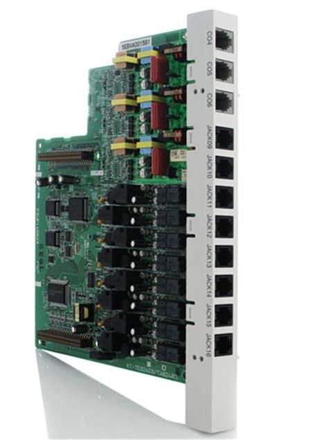 Card Expand Pabx Panasonic Kx Te82480 18 panasonic kx ta82483 3x8 expansion card