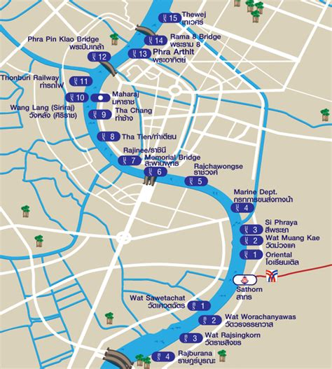 thai boat club road the chao phraya river boat routes and piers you must visit