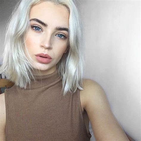 short silver blonde hair ice ice baby short white chop via atlantapitman