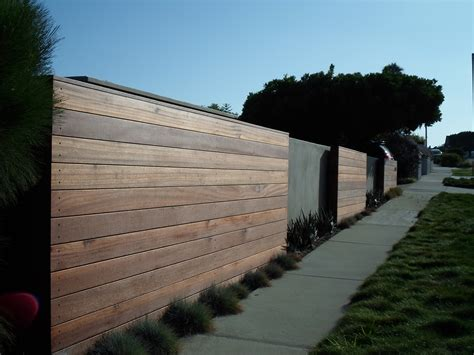 modern fence modern wooden fence fences hedges pinterest
