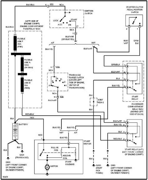 hyundai accent light wiring diagram hyundai sonata