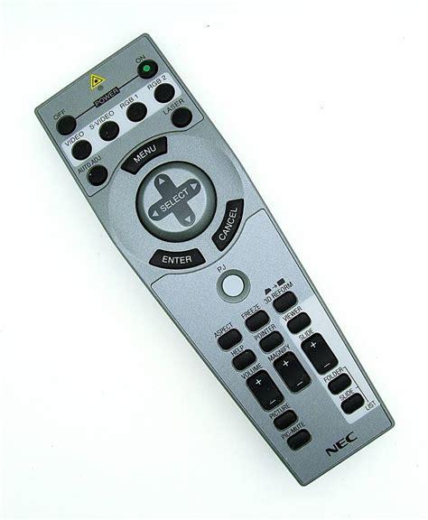 Remote Proyektor Nec Original Nec Projector Remote Rd391e Onlineshop