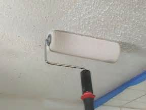 painting a popcorn ceiling how tos diy