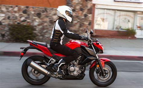 125 Motorrad Für Kleine Frauen by 2015 Honda Cb300f Review