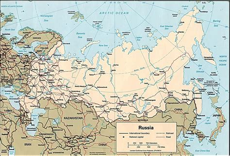 russia map 2015 map of russian cities