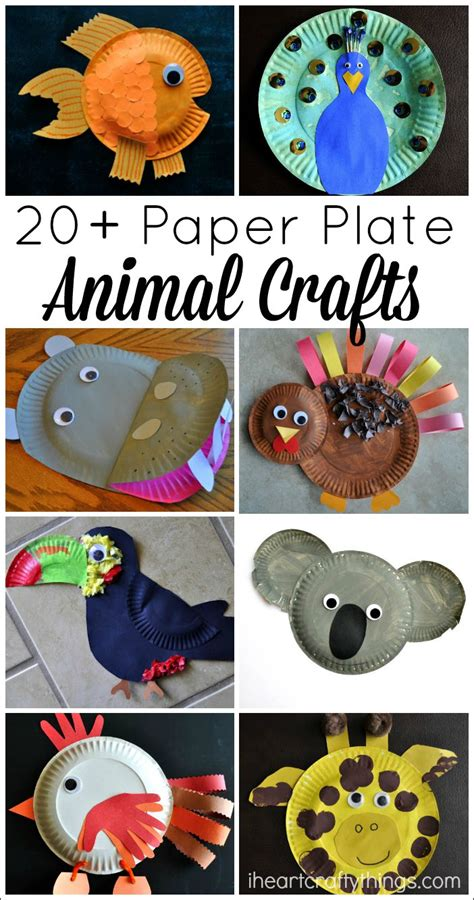 Paper Plate Animal Crafts - 20 paper plate animal crafts for i crafty things