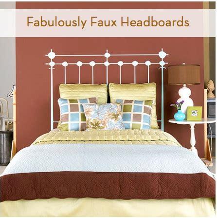 faux headboard ideas roundup 7 fabulous faux headboards faux headboard