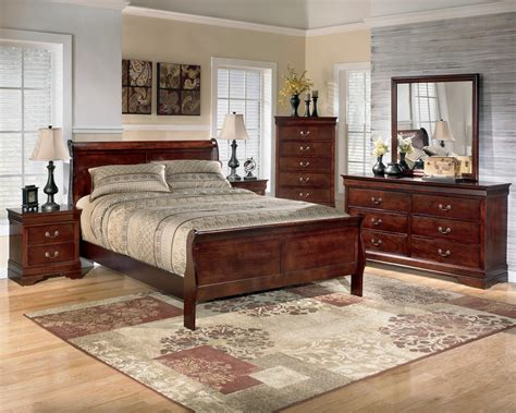 piece queen bedroom group  signature design  ashley wolf furniture