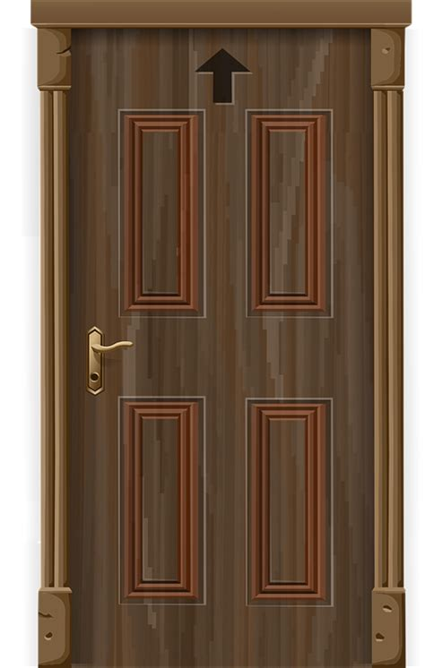 Awesome Church Front View Design #6: Door-575967_960_720.png