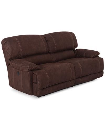 jedd fabric sectional jedd 2 piece fabric sectional sofa with 2 power recliners
