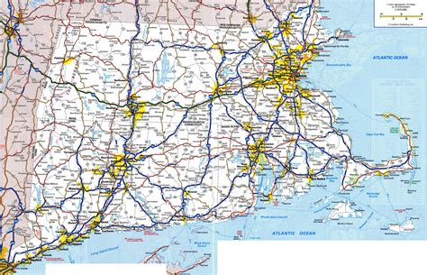 map of ma large detailed roads and highways map of massachusetts state with all cities and villages