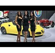 Die Girls Der New York Auto Show 2015  YouTube