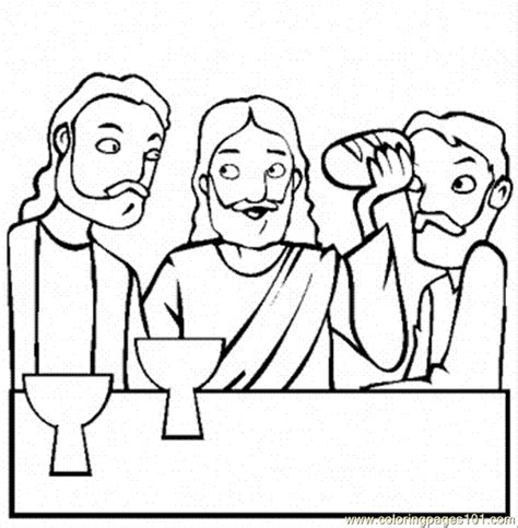Free Coloring Pages Of Shopkins Bread Jesus Last Supper Coloring Page