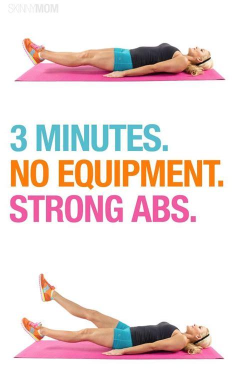 quick ab workout  pinterest