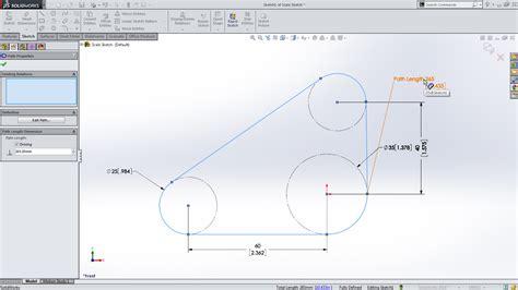 solidworks 2014 sneak peek path length dimension