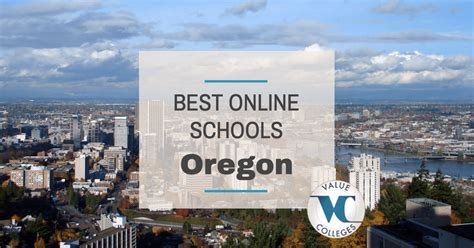 Best Mba Programs In Nj by Top 10 Best Colleges In Oregon Value Colleges
