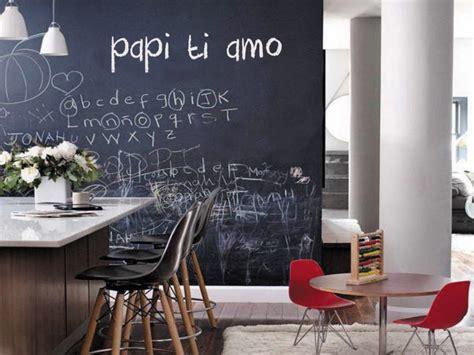 parete lavagna arredamento pareti e superfici scrivibili ad effetto lavagna