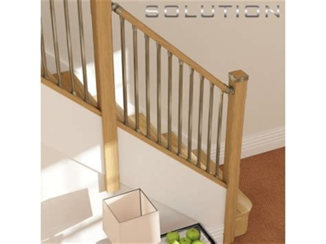 New Banisters by Solution Stair Parts Solution Handrail System