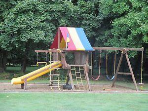 backyard discovery shenandoah cedar wood swing set on