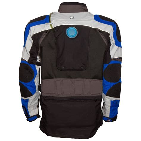 blue motorbike jacket voted best motorcycle adventure jacket africa number one