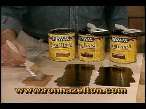 How to Mix Wood Stains to Create Custom Colors   YouTube