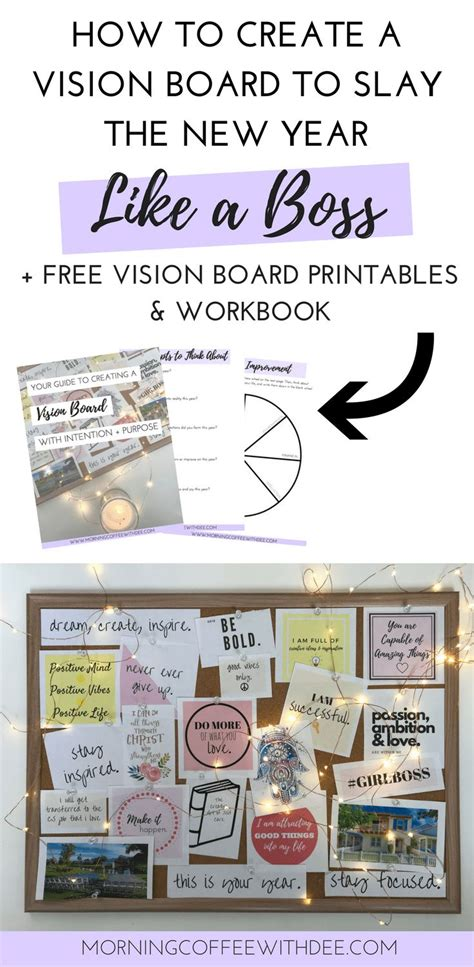 how to create a vision board a cup best 25 vision board template ideas on