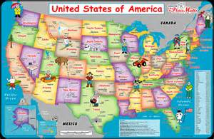 us map placemat placemutts 174 usa placemat map for 171 jimapco