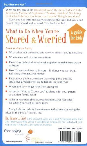 what to do when you re scared and worried links for