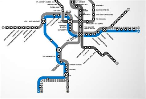 blue line metro map blue line dc metro bar map