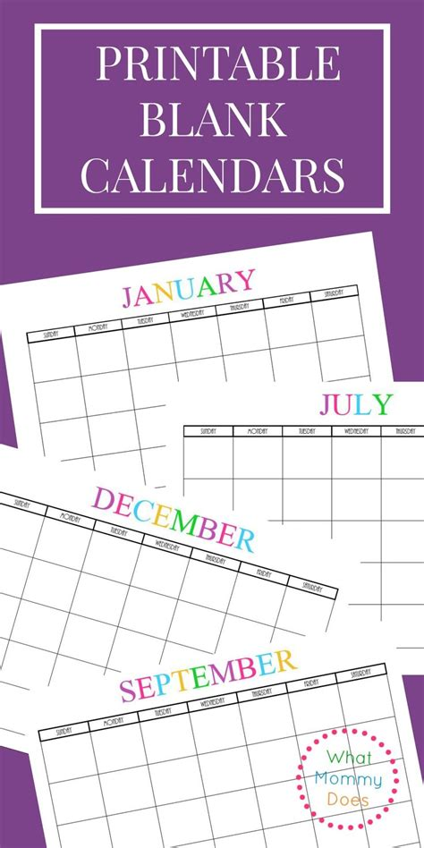 printable monthly calendar with design free printable blank monthly calendars 2017 2018 2019