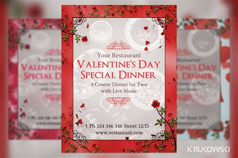 valentines day torrent valentines dinner flyer template free apps