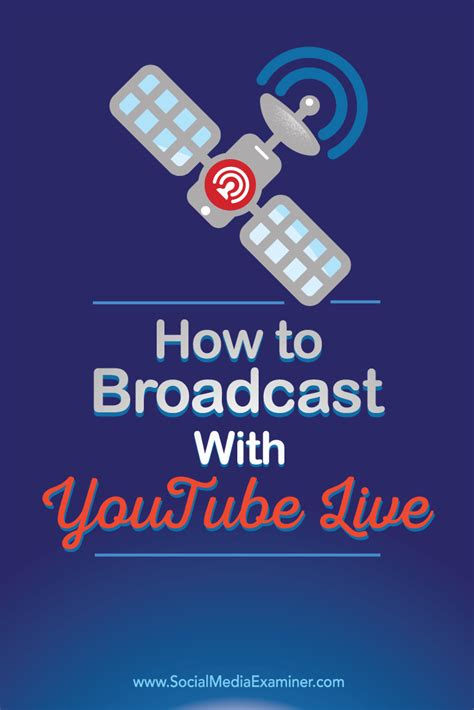 live broadcast how to broadcast with live social media examiner