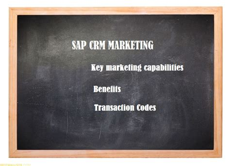 sap crm tutorial pdf sap crm marketing tutorial benefits capabilities