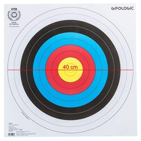 Target Jari Beladiri Dapat 2pc geologic archery target 40 x 40 cm toko alat fitness
