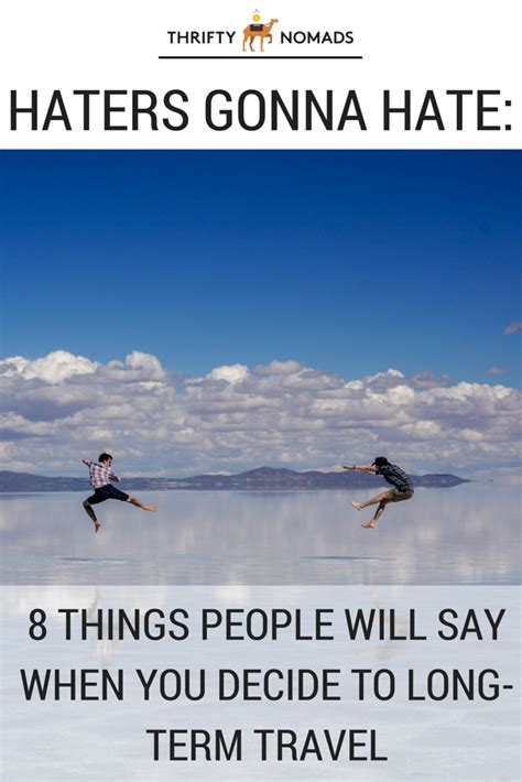 8 Things To Say During by Haters Gonna 8 Things Will Say When You