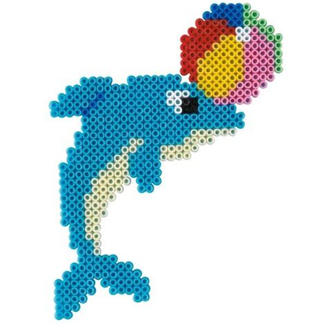 dolphin bead patterns dolphin hama mini perler hama