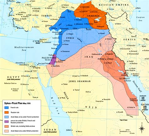 middle east map today today in middle eastern history sykes picot is signed