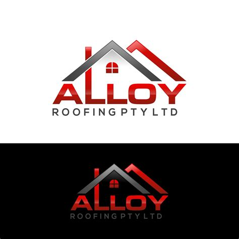 bold conservative logo design for alloy roofing pty ltd by ava design 8161320