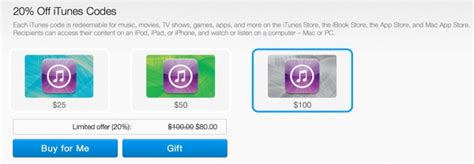 Itune Gift Card Discount - get 20 discount on itunes gift cards from paypal
