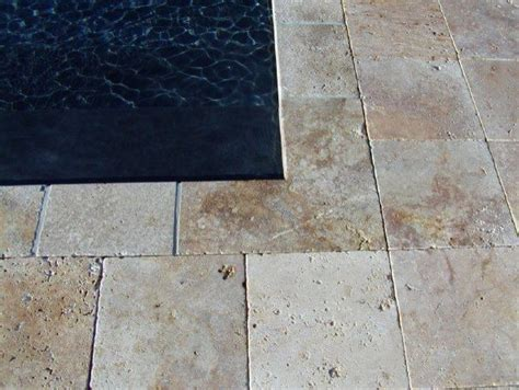 Travertine Tile Outdoor Kitchen by Travertine Tile New Jersey Mediterranean Outdoor Decor