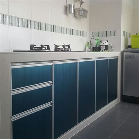 aluminium kitchen cabinet aluminium kitchen cabinet door home furniture on carousell