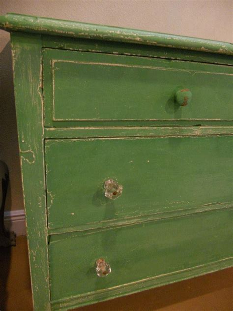 Distressed Green Dresser by Green Distressed Dresser Paint Inspirations