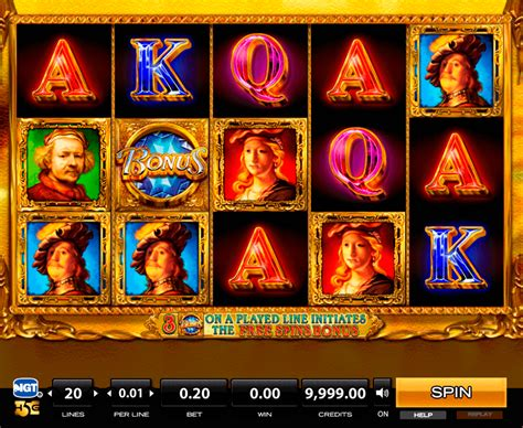 play rembrandt riches  slot high games casino slots