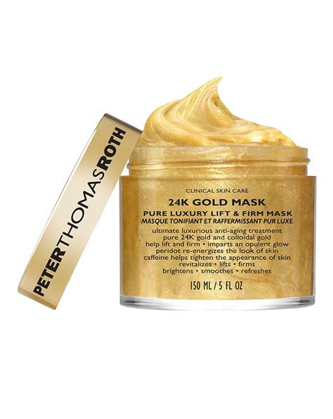Review Serum Ertos Glow And Firm 24k gold mask by roth