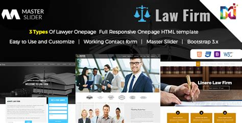 Responsive Website Template Law Firm One Page By Multipurposethemes Firm Responsive Website Template