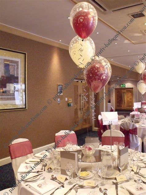 Wedding decoration balloons