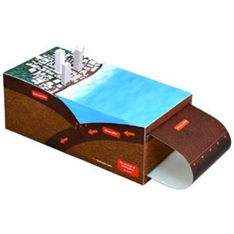 Canon Creative Park Papercraft - the principle of earthquakes science science